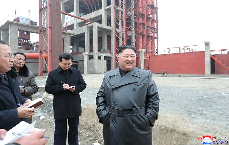 СМИ: Ким Чен Ын посетил один из важнейших объектов строительства 2020 года в КНДР