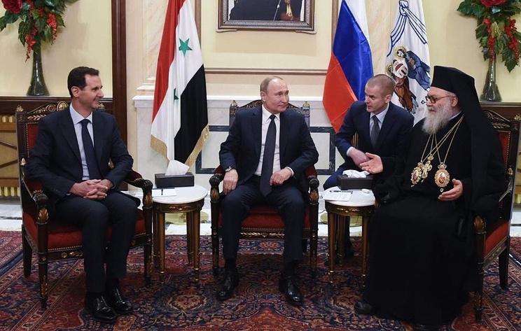 Путин: действия России и Сирии позволяют уничтожить наиболее опасных главарей террористов