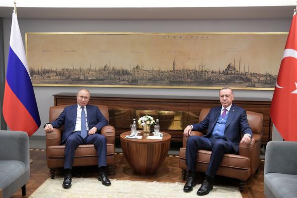 Путин рассказал о попытках помешать отношениям России и Турции