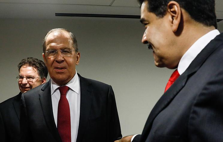 Пресс-конференция Лаврова и Мадуро. Видеотрансляция