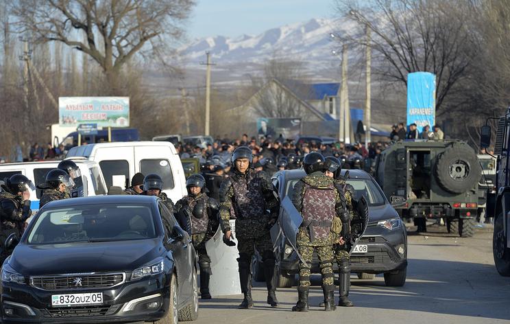 Обстановка в казахстанском районе, где произошли беспорядки, нормализовалась