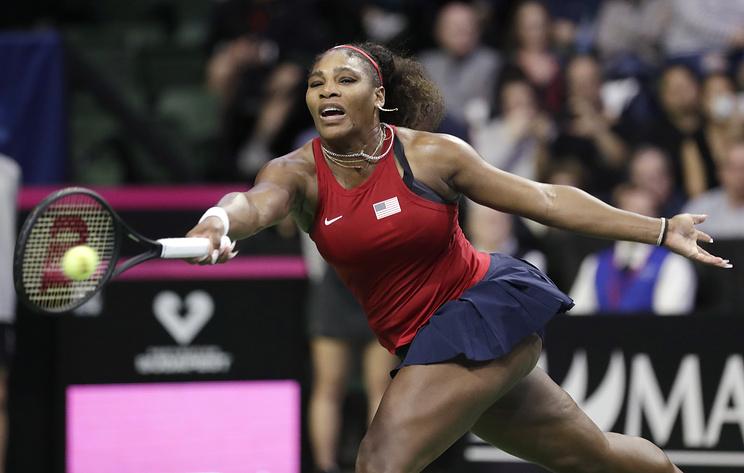 Серена Уильямс впервые в карьере проиграла в Кубке Федерации