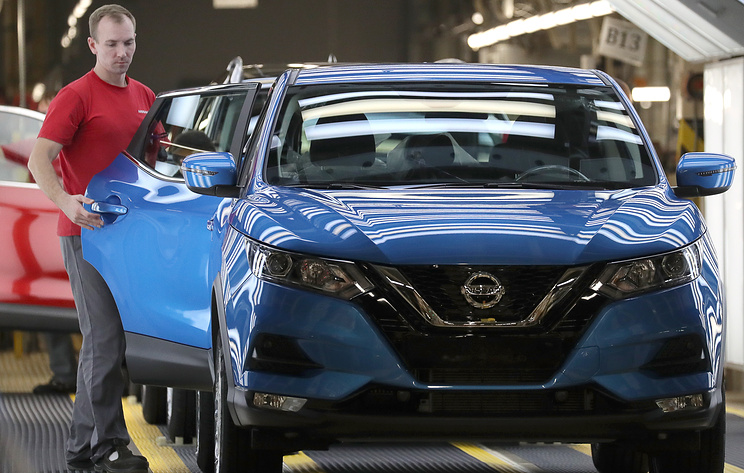 Nissan в марте может приостановить производство в Петербурге из-за простоя заводов в КНР
