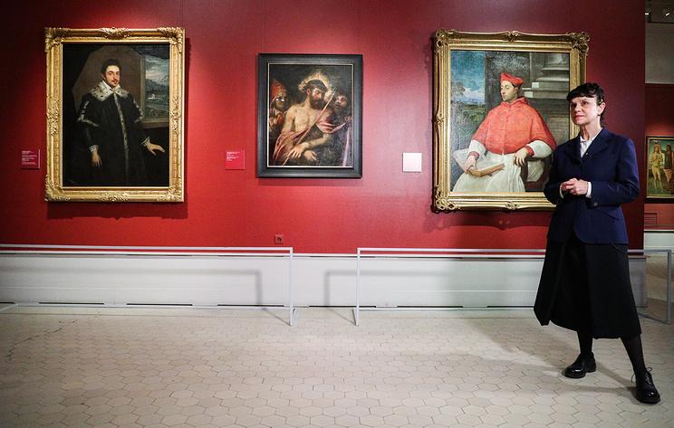 """Впервые за 93 года в Пушкинском музее выставили картину Тициана """"Се, человек!"""""""