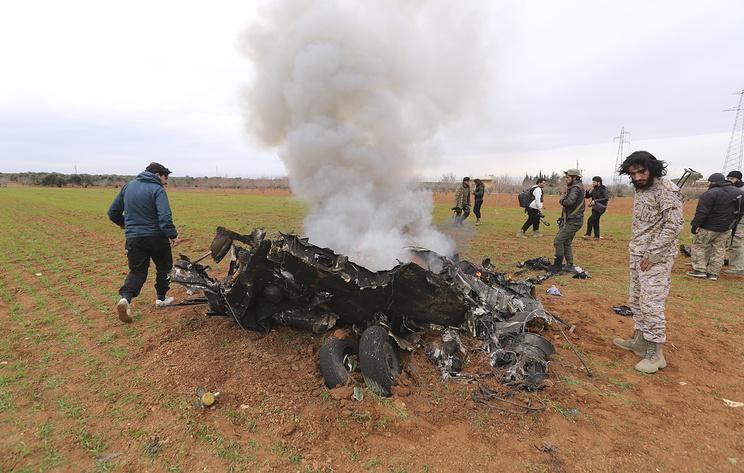 СМИ: сирийские военные подтвердили потерю вертолета и гибель двух летчиков