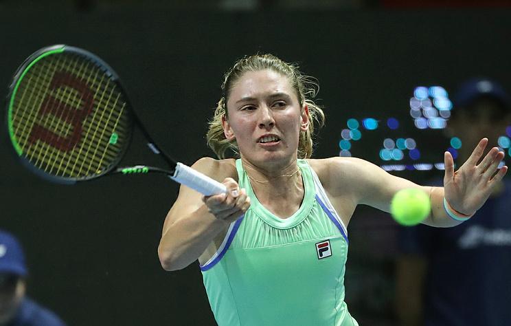 Александрова обыграла Касаткину и вышла во второй круг турнира WTA в Санкт-Петербурге
