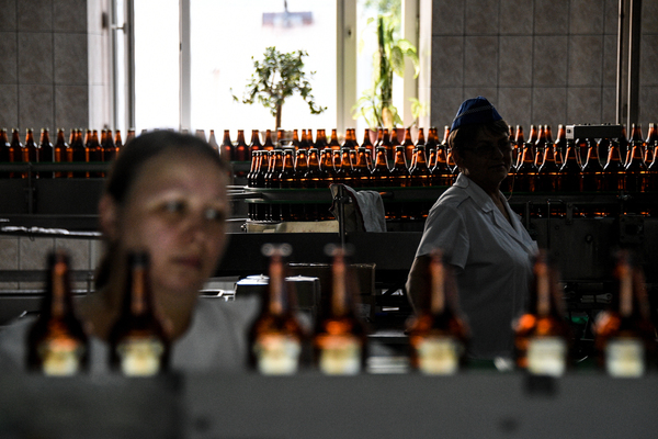 На российском пивном рынке сменился лидер