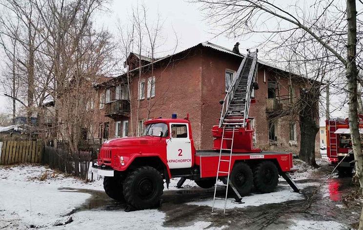 Пять человек пострадали при пожаре в жилом доме в Красноярске