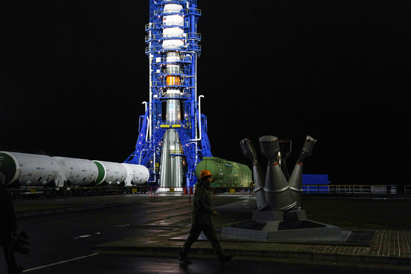 Россия вывела на орбиту 34 британских спутника связи