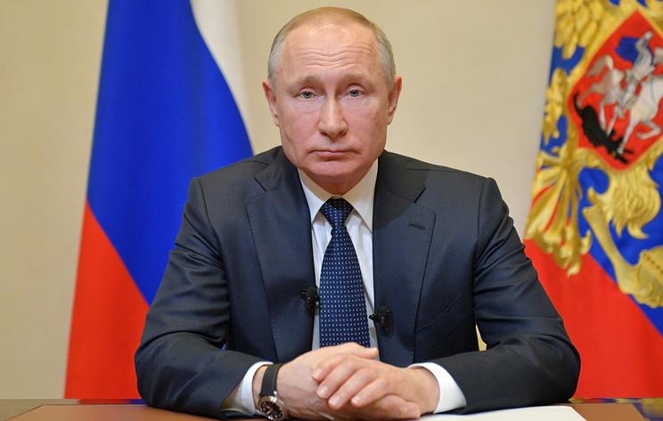 Путин призвал россиян проявить сплоченность и понимание в борьбе с коронавирусом