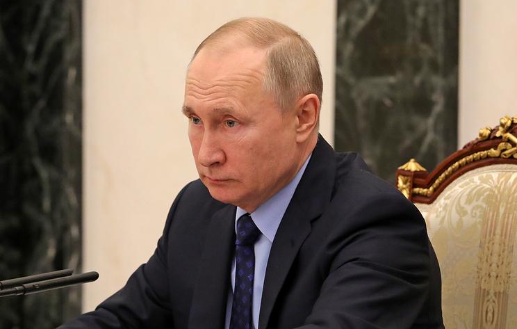 Путин подписал указ о переносе даты голосования по поправкам в конституцию