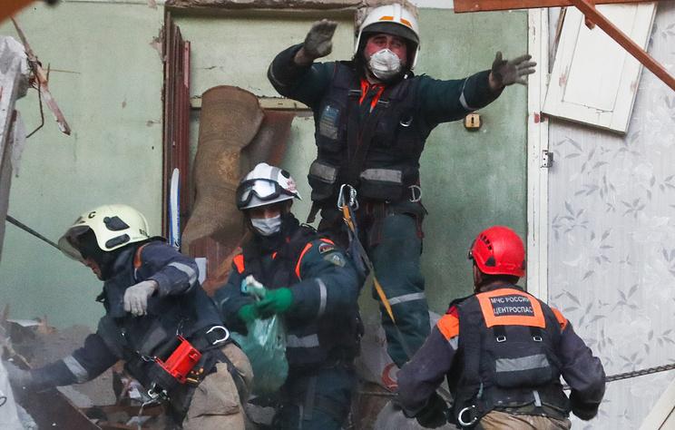 В Подмосковье завершили аварийно-спасательные работы на месте взрыва газа в жилом доме