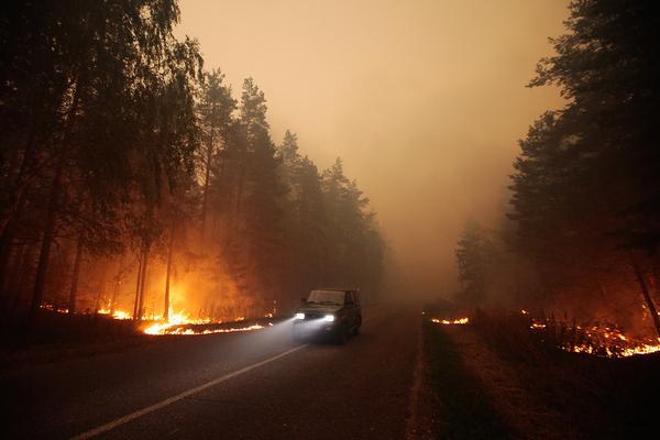 Россиян предупредили о риске возникновения летних торфяных пожаров