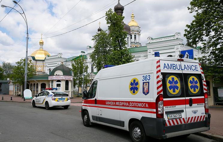 СМИ: возле офиса Виктора Медведчука в Киеве произошел взрыв