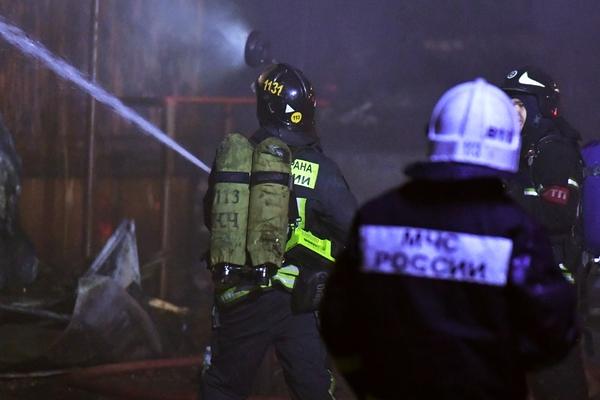 В российской больнице произошел пожар
