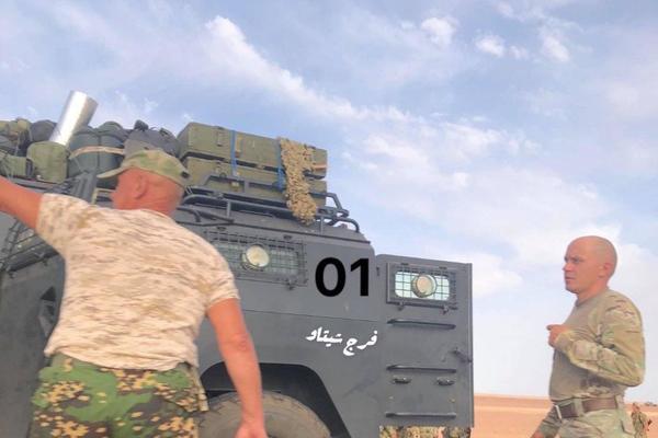 Бойцов российской ЧВК заметили в Ливии