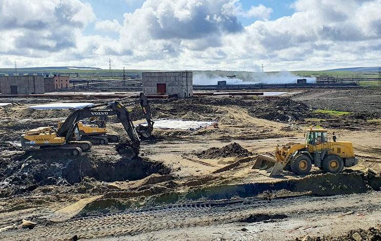 СК начал проверку информации о сбросе технологических отходов в тундровую зону в Норильске