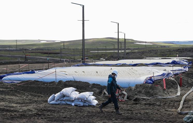 В Норильске остановили перекачку стоков обогатительной фабрики в тундру