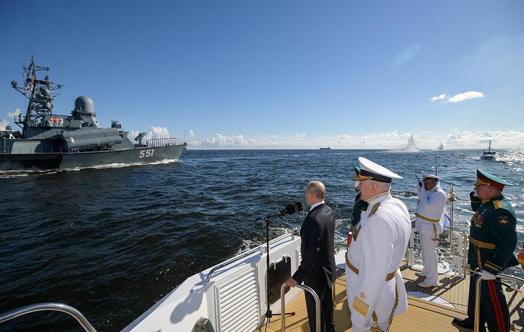 Путин сообщил, что в состав ВМФ России в 2020 году будут приняты 40 новых кораблей