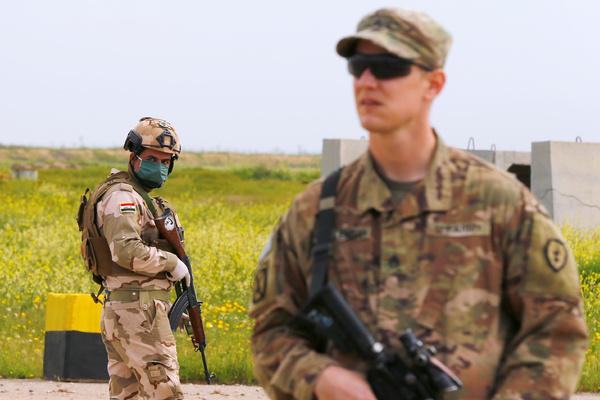 В Ираке базу с американскими солдатами обстреляли ракетами