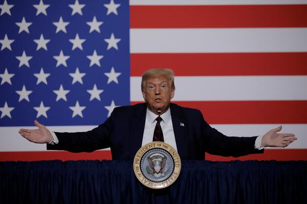 Трамп открестился от идеи перенести президентские выборы в США