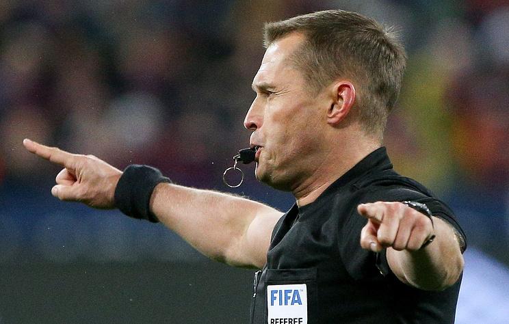 Безбородов признан лучшем судьей чемпионата России по футболу