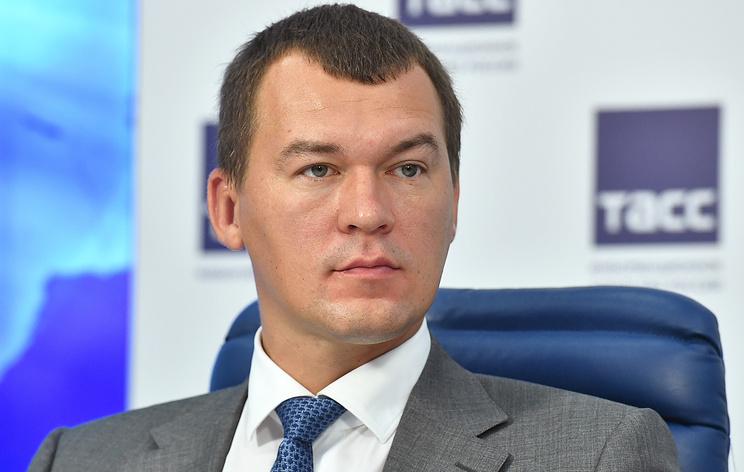 ЛДПР готова выдвинуть Дегтярева на пост губернатора Хабаровского края