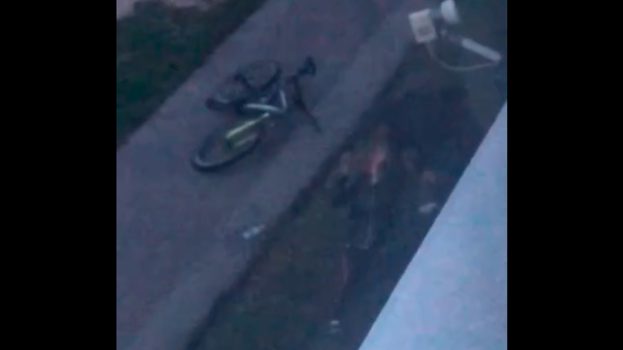 Россиянин жестоко избил девушку на улице из ревности и попал на видео