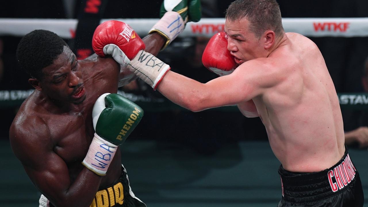 Британского боксера госпитализировали после нокаута от россиянина Чудинова