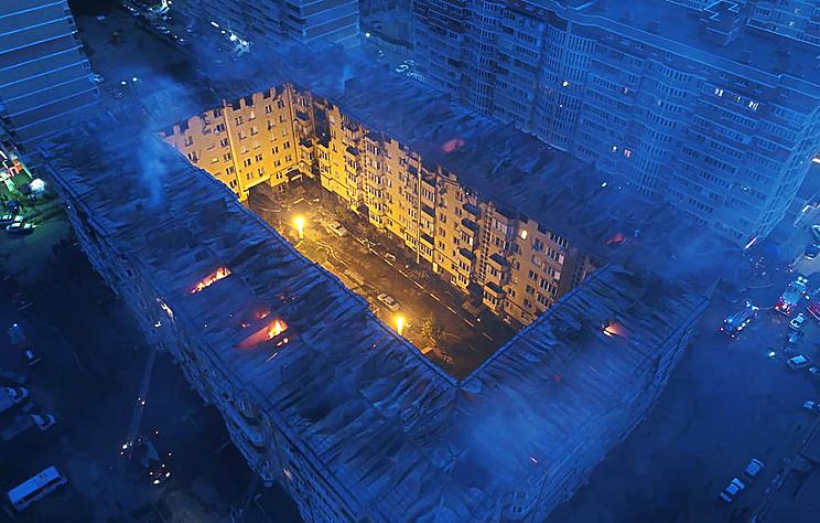 Источник: в горевшем жилом доме в Краснодаре была с ошибками смонтирована электропроводка