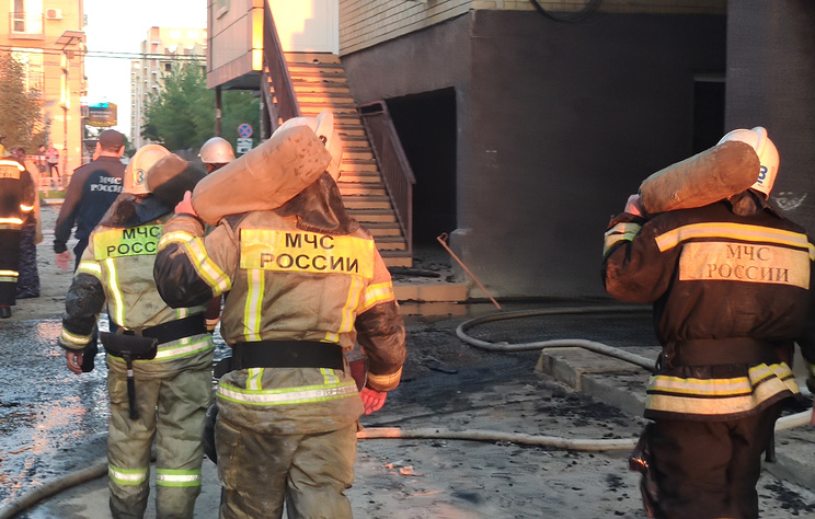 Источник: причиной пожара в доме в Краснодаре стал аварийный режим работы электросети