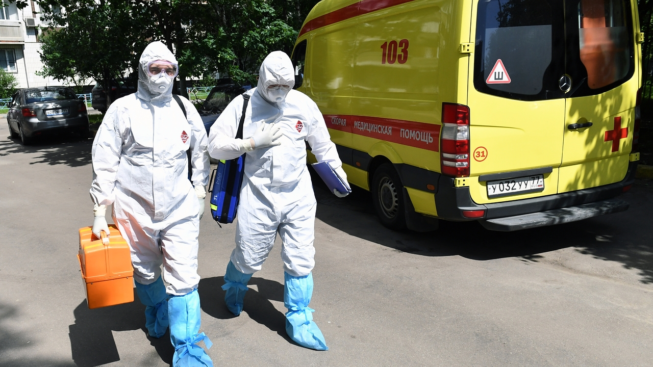 Названо число пациентов с коронавирусом в российских больницах