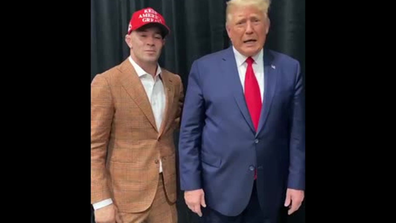 Рукопожатие Трампа и звезды UFC озадачило фанатов