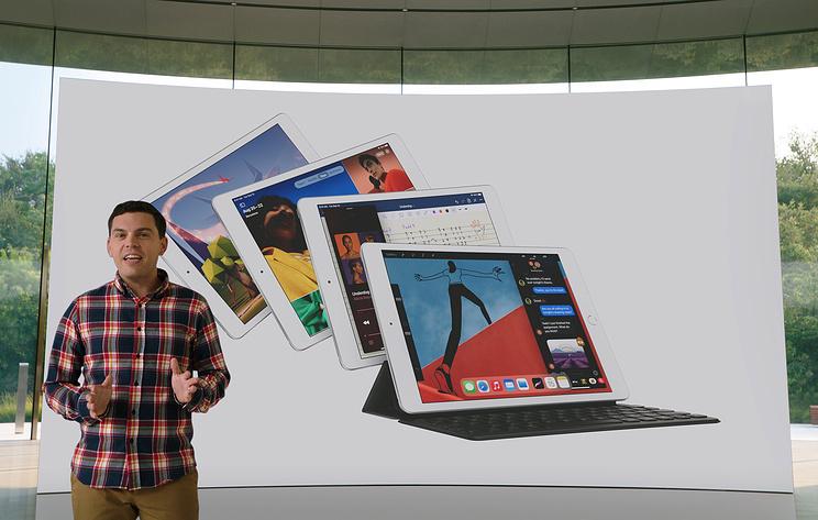Apple представила обновленный iPad 8