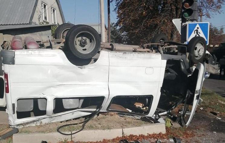 В ДТП в Нальчике пострадали четыре человека