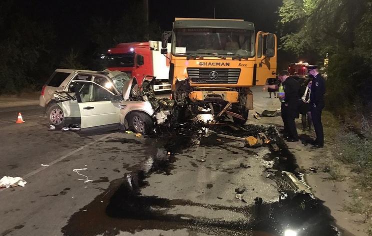 Два человека погибли в ДТП в Волгограде