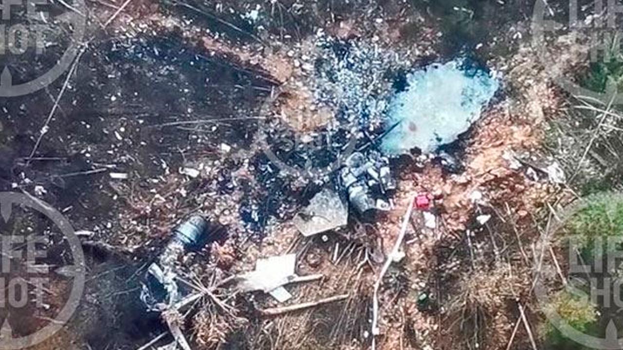 Потерпевший крушение в Тверской области Су-30 образовал гигантскую воронку