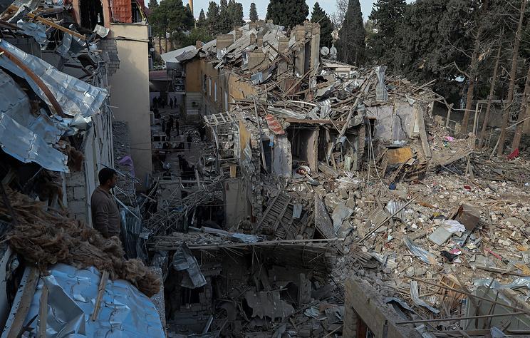 Хрупкое перемирие в Карабахе. Азербайджанский город Гянджа вновь попал под ракетный удар