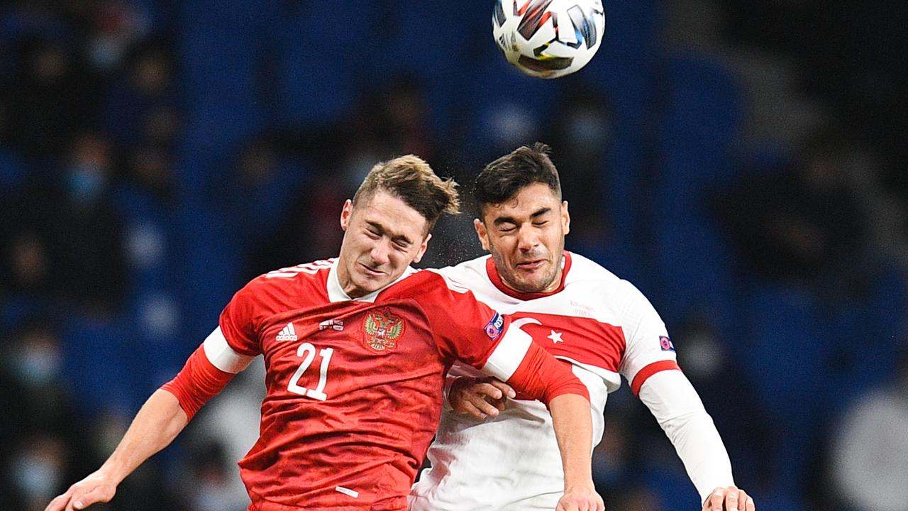 Сборная России сыграла вничью с Турцией в матче Лиги Наций