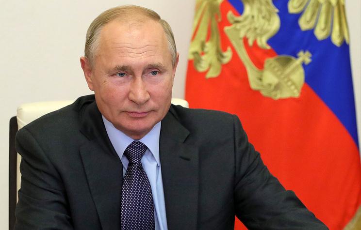 Путин внес в Госдуму проект закона о Государственном совете