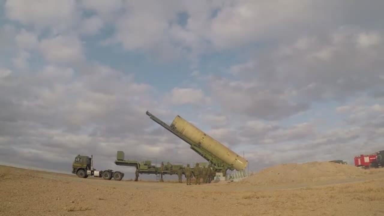 Пуск новой российской противоракеты показали на видео