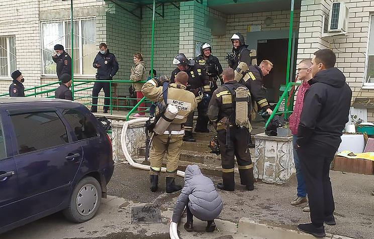 Число пострадавших при пожаре в жилом доме в Ставрополе увеличилось до трех