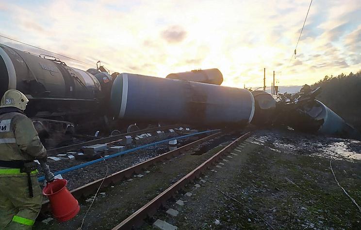 РЖД окажет помощь родственникам погибшего при сходе вагонов с рельсов под Владимиром