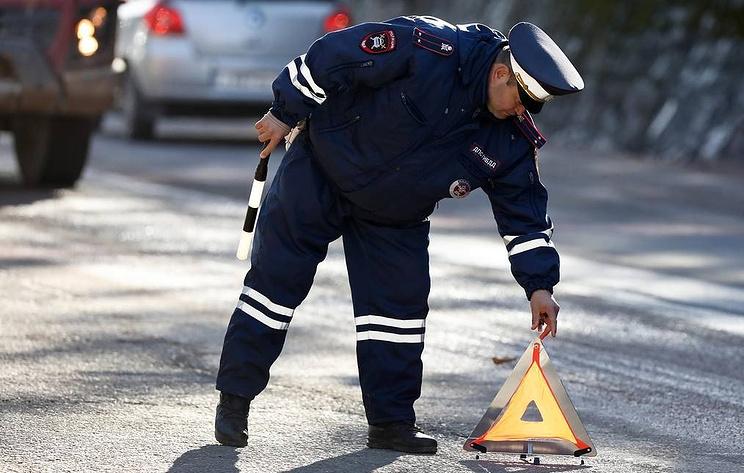 В Курске начальник отделения уголовного розыска спровоцировал ДТП с тремя машинами