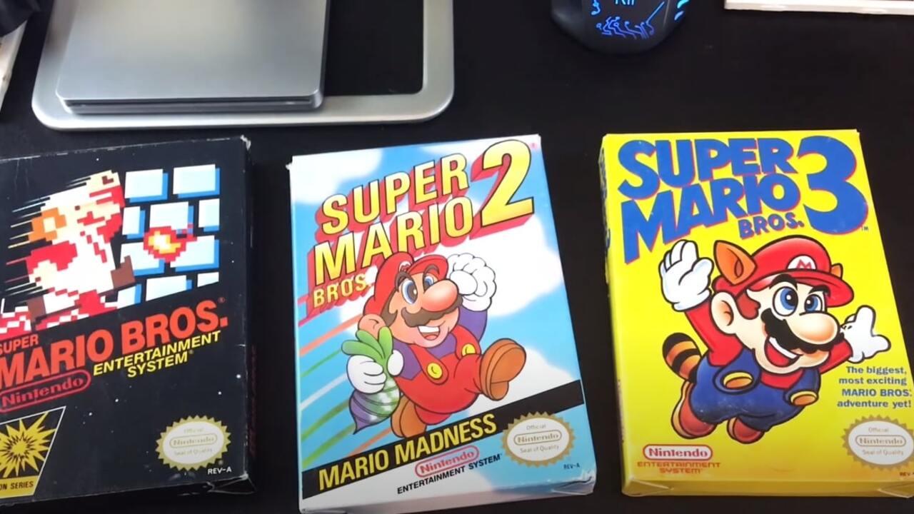 Редкий картридж Mario стал самой дорогой игрой в истории