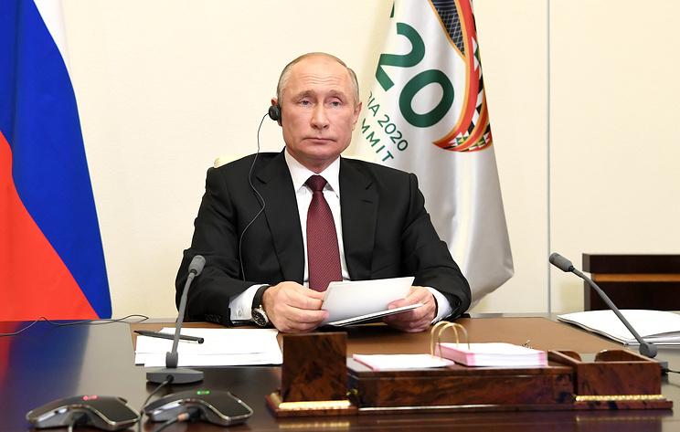 Путин: пандемия запустила экономический кризис, какого мир не знал с Великой депрессии