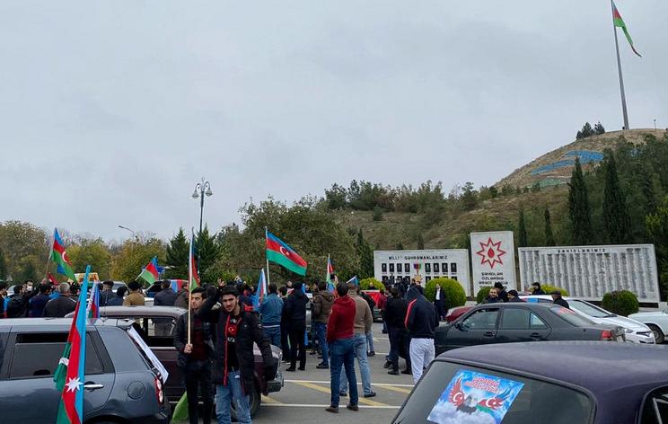 Азербайджанцы в Агдамском районе возвращаются в свои дома