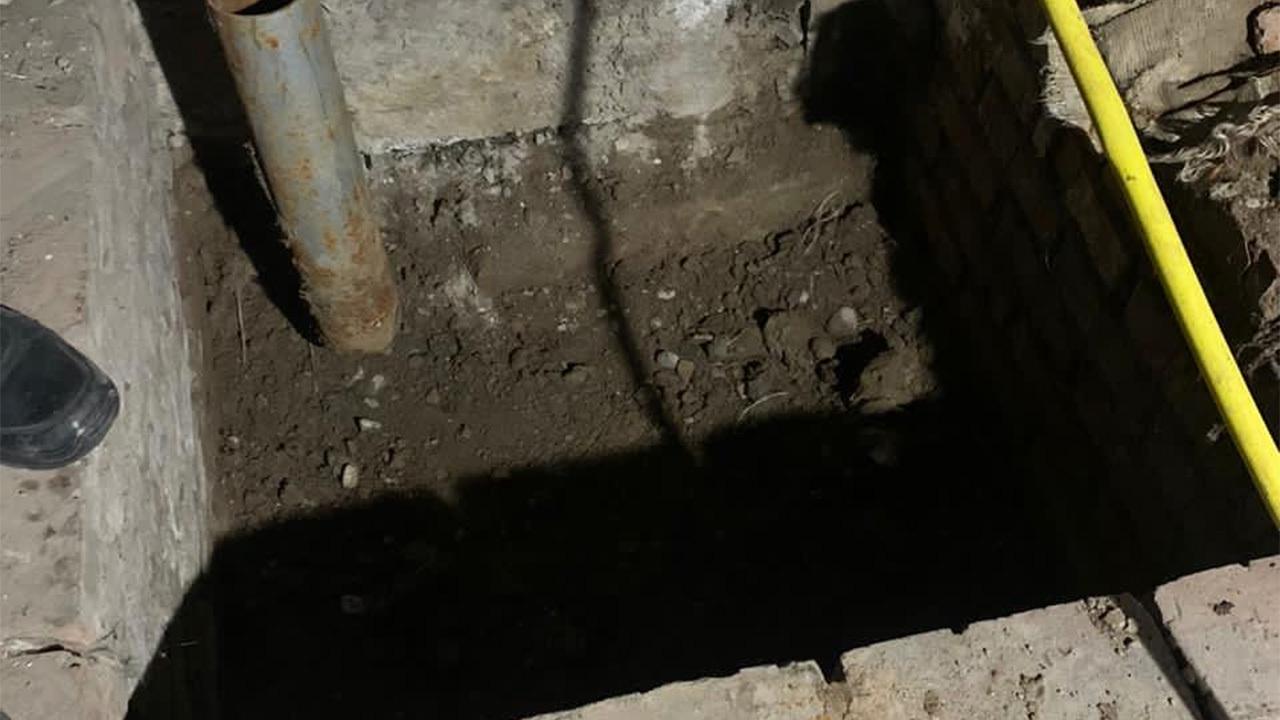 Замурованное в бетон тело нашли в доме в российском городе