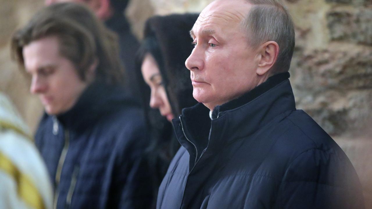 Путин прибыл на Рождество в Новгородскую область