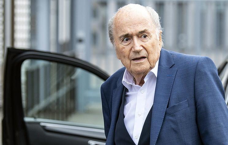 Бывший президент ФИФА Блаттер попал в больницу